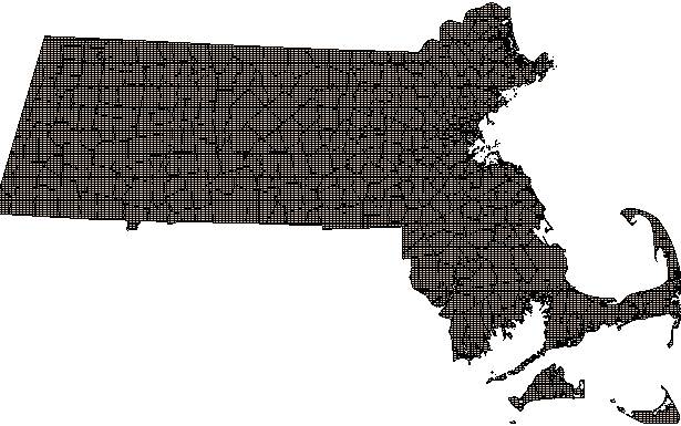 Massachusetts Town Boundaries