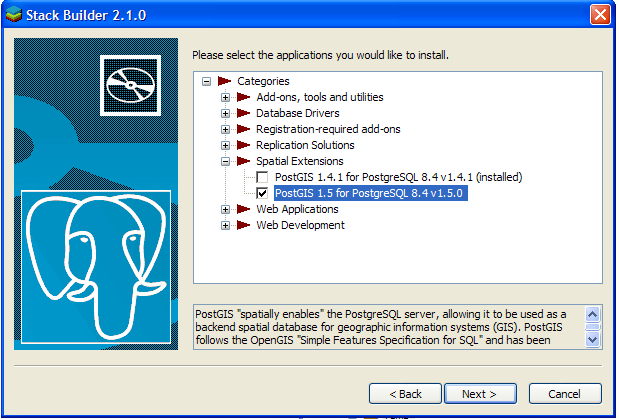 postgresql 8.2 windows 7