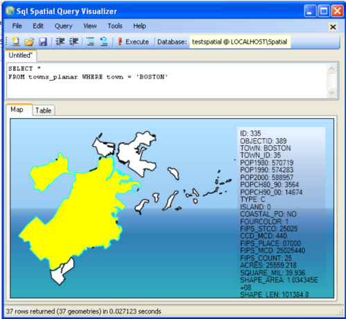 Part 1: Getting Started With SQL Server 2008 Spatial: An almost